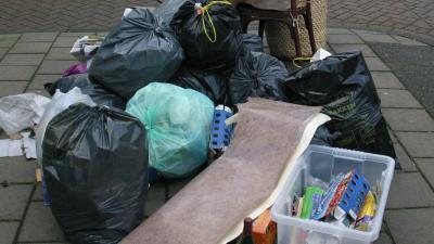 foto van vuilniszal   fbf
