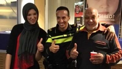 Vader en dochter na 19 jaar herenigd dankzij agent Tarik