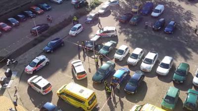 Agent neergestoken, verdachte neergeschoten in Uithoorn bij arrestatie