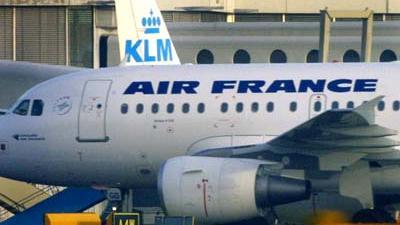 Foto van KLM Air France vliegtuig   Archief EHF