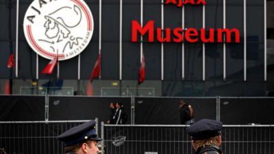 Foto van Ajax logo | Archief EHF