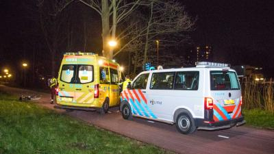 Man in been gestoken in Schiedam