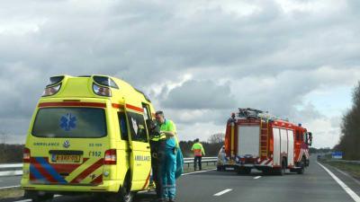 Ongeval N33 tussen Assen en Rolde