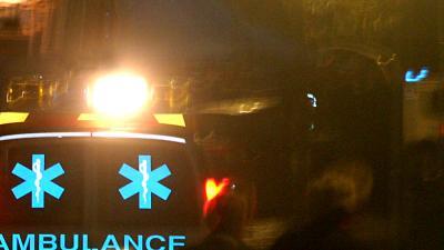 Foto van ambulance in donker | Archief EHF