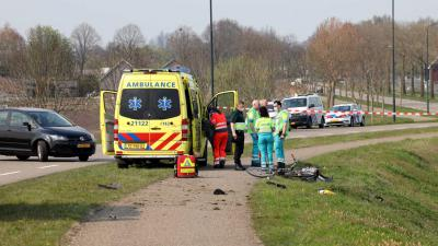 ambulance-fietser-traumahelikopter