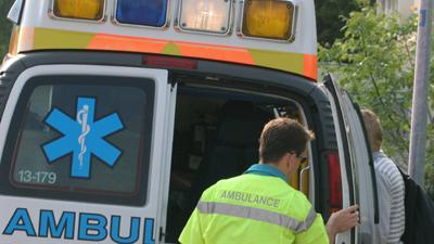 Foto van ambulance   Archief EHF