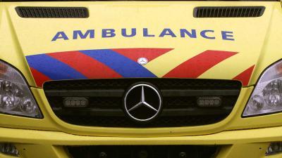 Man schreeuwt tijdens reanimatie of ambulance niet even opzij kan