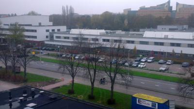 Ziekenhuis Amstelland in Amstelveen in zwaar weer