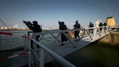 Anti-terreuroefening op Waddenzee