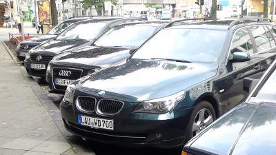 Audi- en BMW-rijders zijn de grootste brokkenmakers