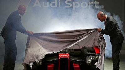 Nieuwe Audi R18 voor raceseizoen 2016 gepresenteerd