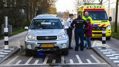 Fot ovan beweegbare paal en auto | Sander van Gils | www.persburosandervangils.nl