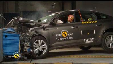 Nieuwe Renault Talisman en Mégane halen vijf sterren bij Euro NCAP crashtests