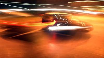 Foto van auto in het donker   Archief EHF