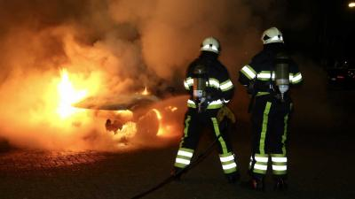 Autobrand Poolsestraat in Boxtel