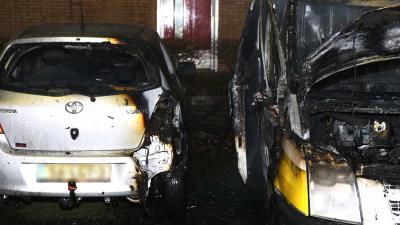 Opnieuw bestelbus uitgebrand in Den Bosch