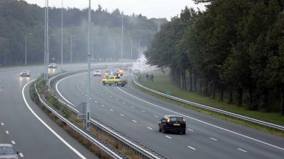 autobrand-snelweg-a2