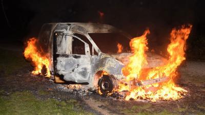 Brandweer Drente druk met voertuigbranden