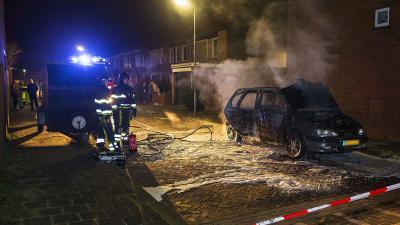 Opnieuw autobrand in Den Bosch