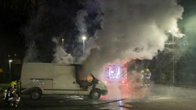 Opnieuw auto in vlammen op in Vlaardingen