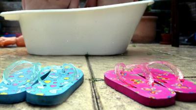Twee kinderen in bad geëlektrocuteerd