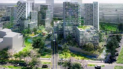 Veel groen in nieuwe autoluwe stadswijk Bajes Kwartier