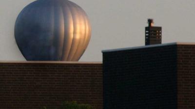 Foto van luchtballon bij woning | Archief EHF