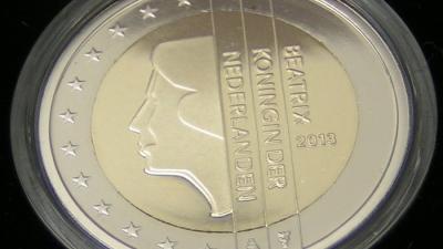 foto van euromunt