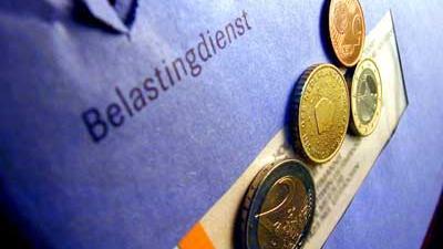 Foto van belasting envelop geld | Archief EHF
