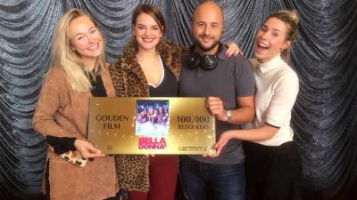 Bella Donna's behaalt Gouden Film status