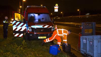 Weer vaten drugsafval achtergelaten in Brabant