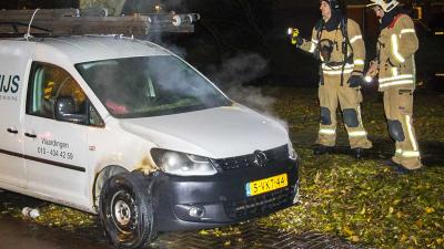 Auto in brand gestoken in Vlaardingen