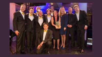 Bever wint Cross Channel Award 2015