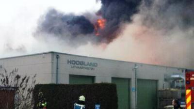 Foto van brand in Burgum | Jochum