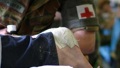 Rode Kruis prikt 16.551 blaren tijden Nijmeegse Vierdaagse
