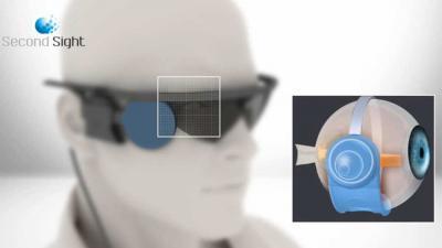 Foto van oog blind bril chip | Oogziekenhuis Zonnestraal