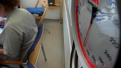 Foto van verpleegsters in overleg | Archief EHF