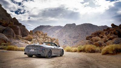 Hot Climate Testing voor nieuwe BMW 8 Serie Cabrio