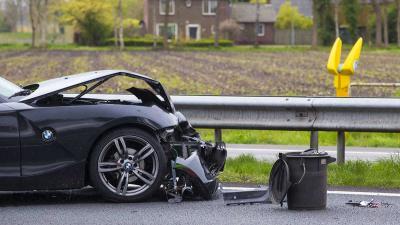 Flinke vertraging door ongeval op A58 bij Oirschot