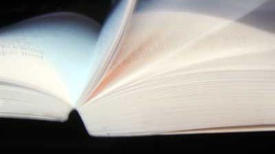Foto van boek bladeren | Archief EHF