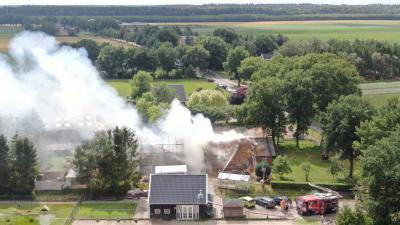 boerderijbrand-luchtfoto