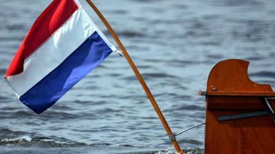 Foto van boot Nederlandse vlag   Archief EHF