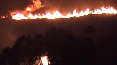 Zeer veel doden door zeer grote bosbrand Portugal