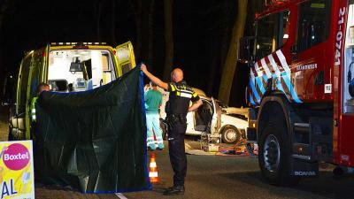 Automobilist zwaargewond na botsing tegen boom Boxtel