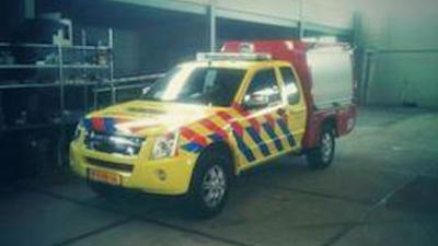 foto van nieuw hulpverleningsvoertuig | VRR