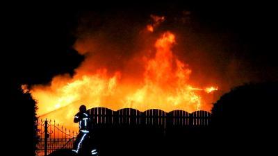 Brand op camping in Anloo, stacaravan verwoest