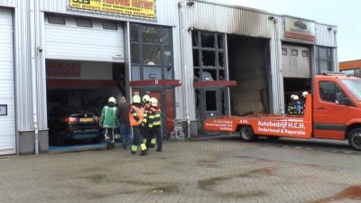 Foto van brand in garage | KJH