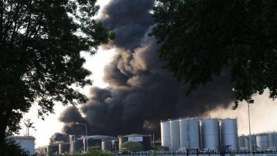 Zeer grote brand Westelijk Havengebied Amsterdam