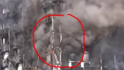 Londense woontoren volledig in brand door brandbaar gevelmateriaal