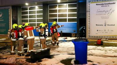Brand in pand groothandel in waterpijpen